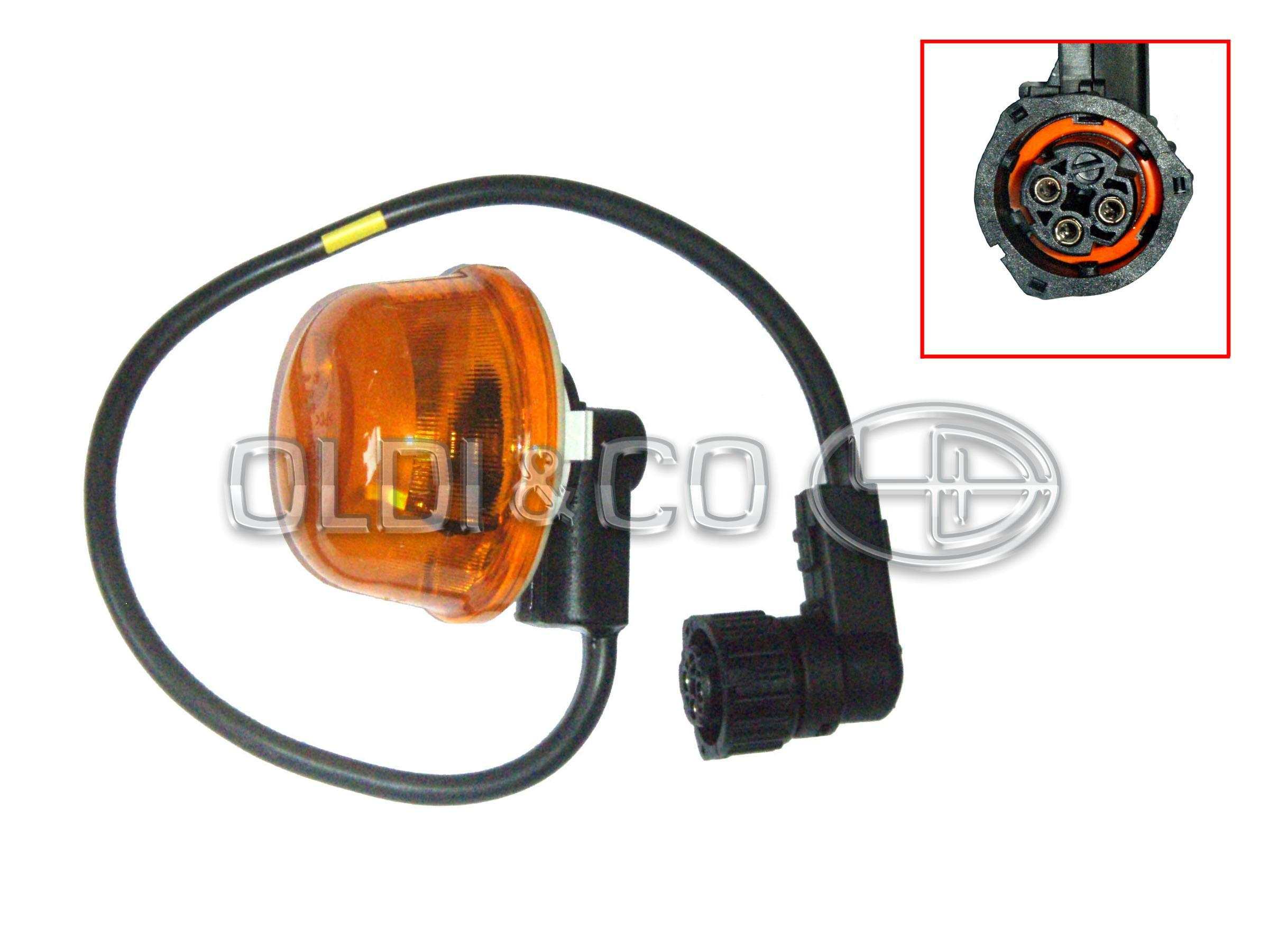 13 018 15608 - Optics and bulbs - Turn signal lamp - Auto optika un