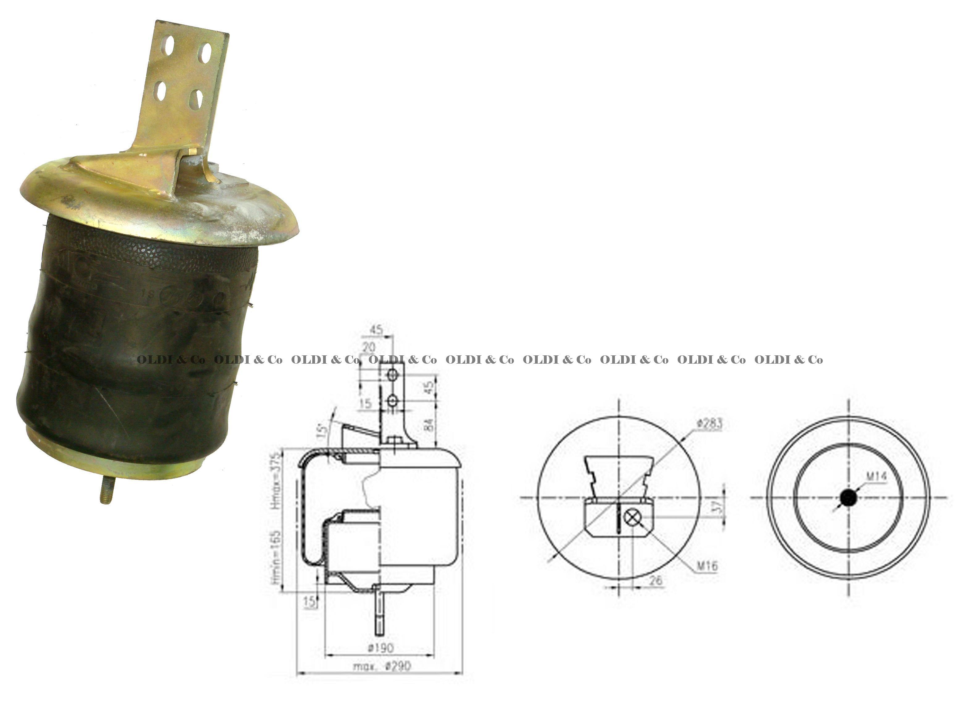 1400917501 Airsprings Air Spring With Flange Gaisa Iveco Eurotech Wiring Diagram Spilveni Un