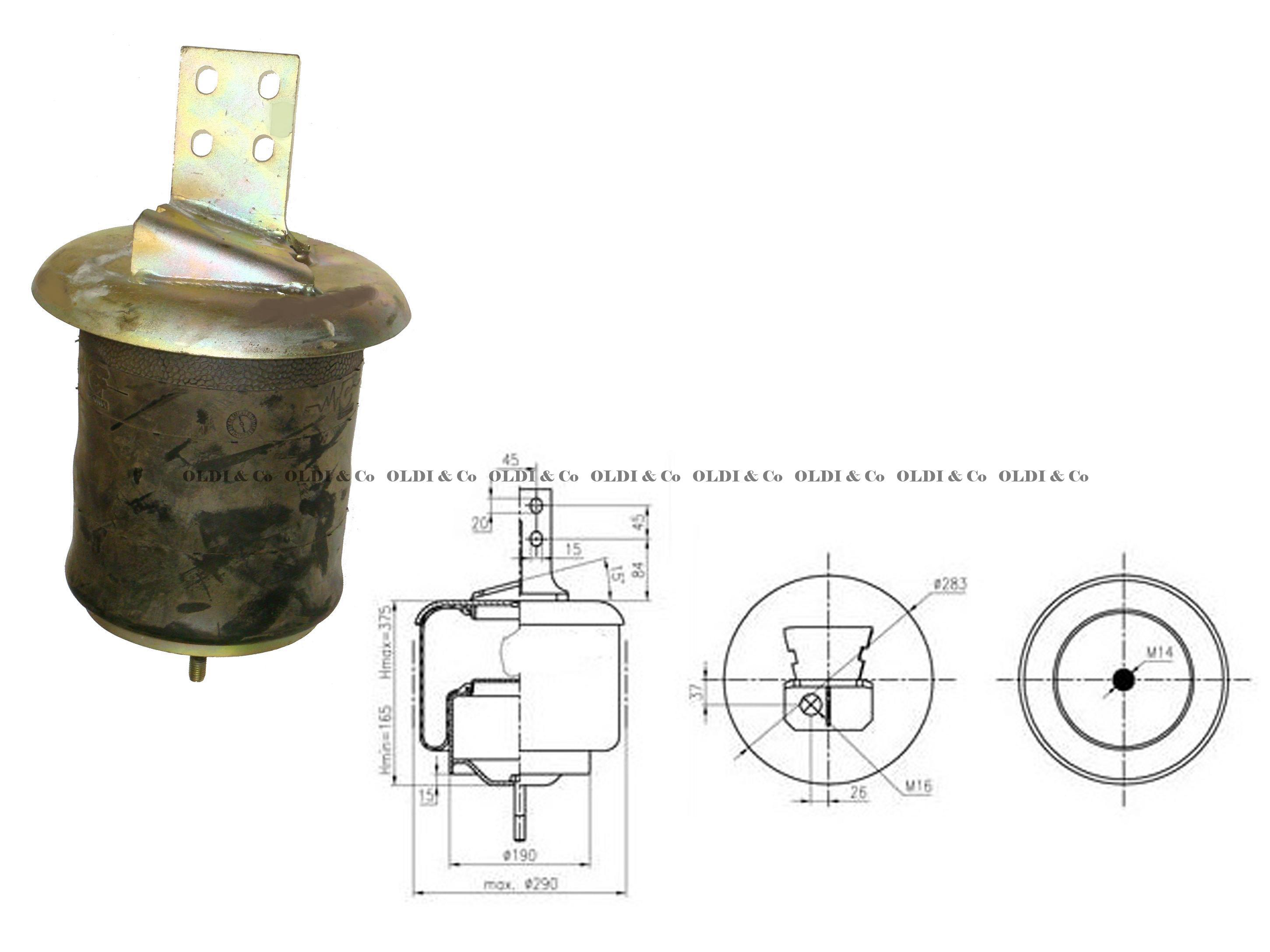 1400917502 Airsprings Air Spring With Flange Gaisa Iveco Engine Fuel System Diagrams Spilveni Un
