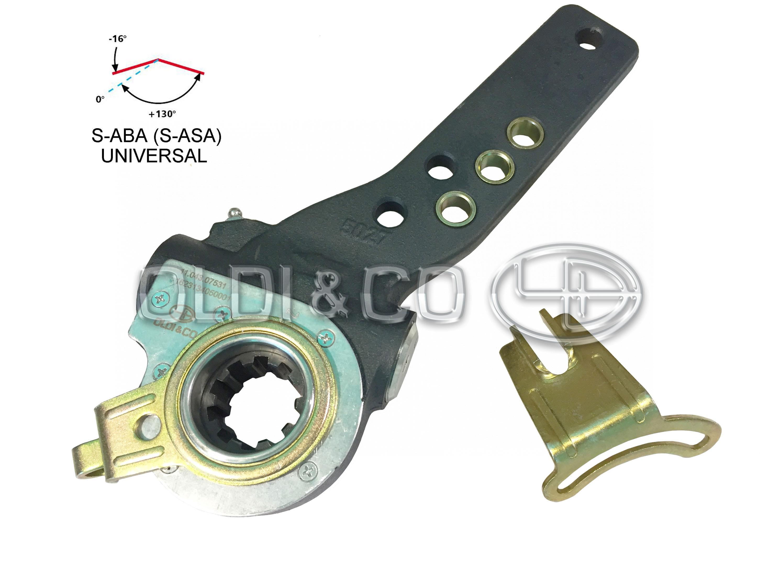 11 043 25061 - Details of brake system - Slack adjuster