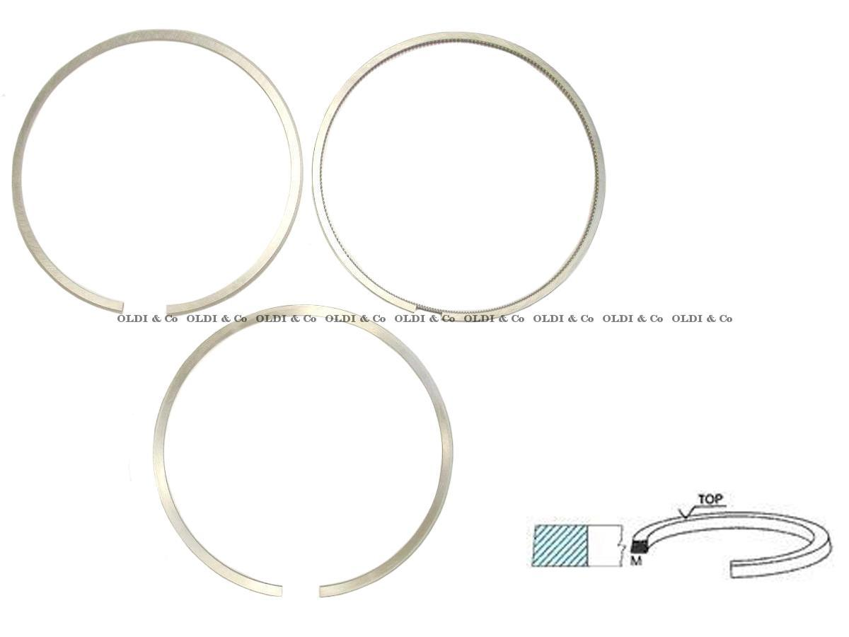 33.027.00922 Engine parts → Piston ring set